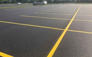 parking lot striping paint - parking lot striping tape - thermoplastic - Quick Lot