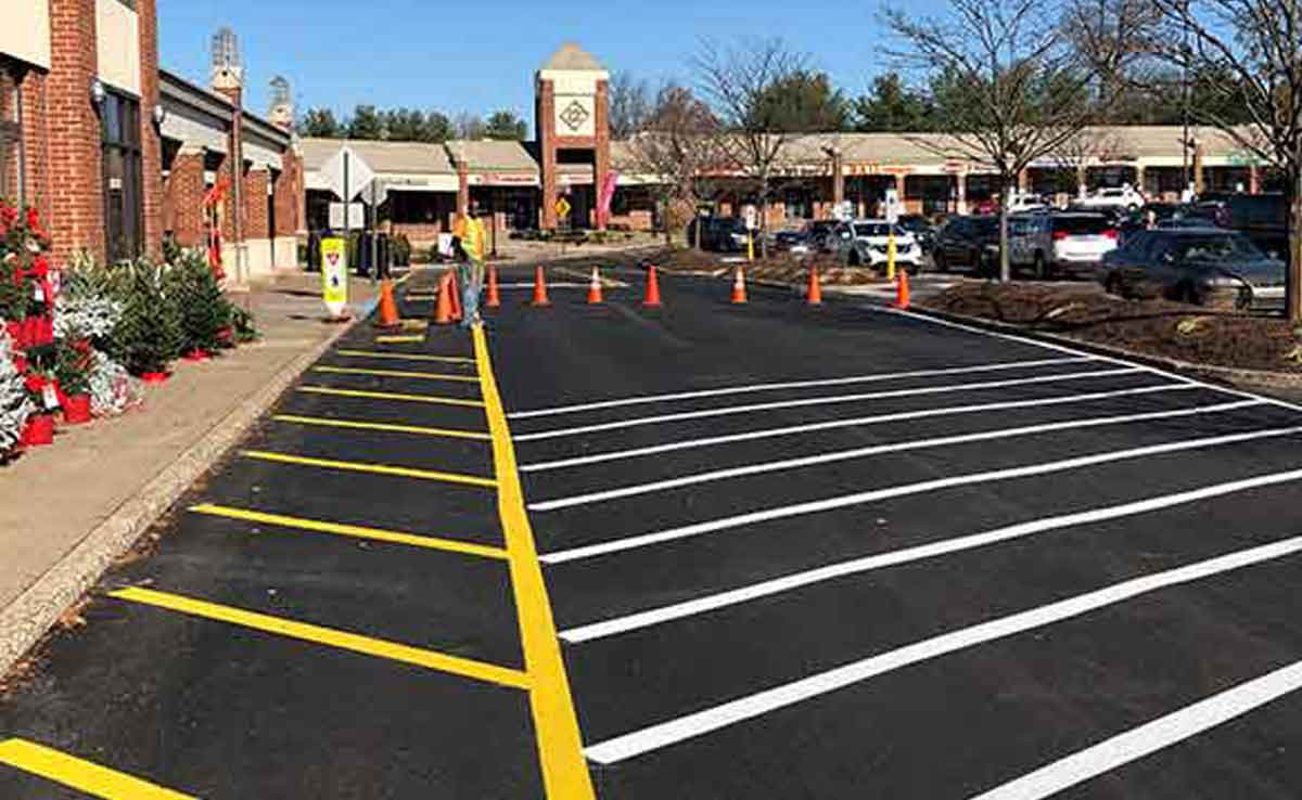 Quick Lot - Parking Lot Maintenance - Parking Lot Repair - Parking Lot Striping - Weis Market