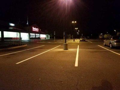 parking lot stripes - parking lot striping - Quick Lot