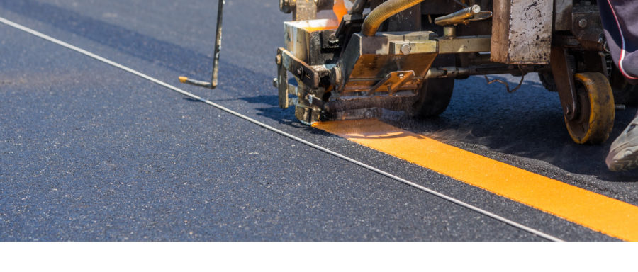 hot applied thermoplastic pavement markings